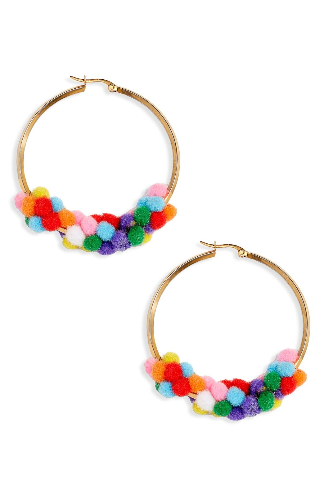 These hoops are super funky and trendy,{ } $230 at Nordstrom. (Image: Nordstrom){ }