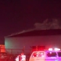 Amarillo Marshall Building Warehouse burns after RV catches fire inside