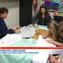 Northwest Florida students decorate pillow cases for Parkland shooting victims