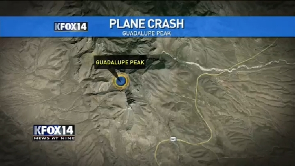 Plane crash at Guadalupe Mountains National Park KFOX