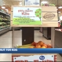Kroger launches program for kids to pick up a free piece of fruit while shopping