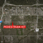 Pedestrian seriously hurt after being hit in South Omaha