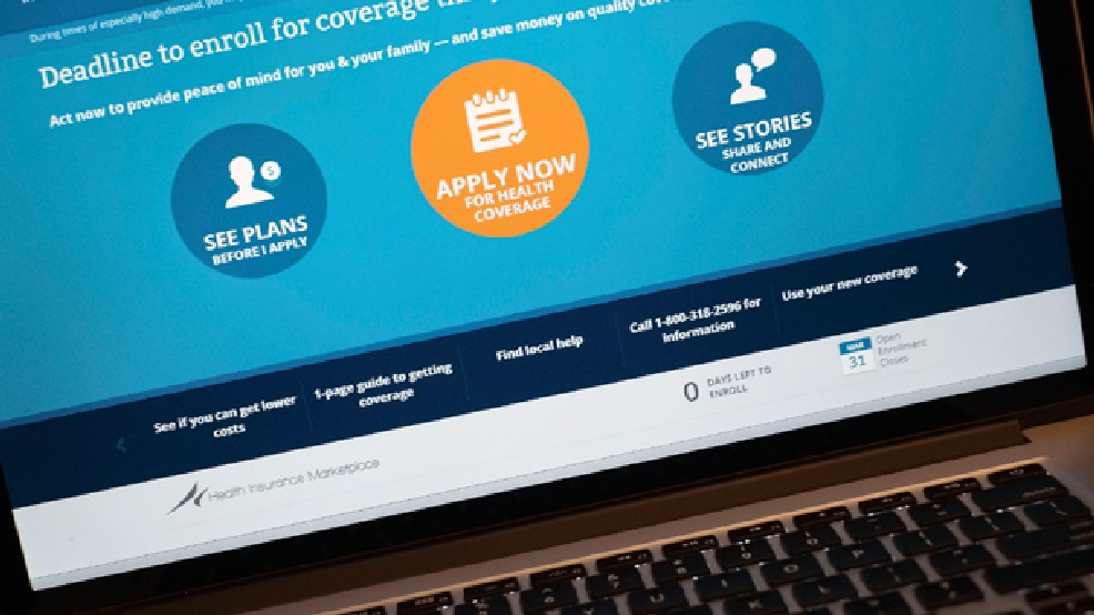 The HealthCare.gov website is shown on a laptop in Washington, Monday, March 31, 2014. (AP Photo/J. David Ake)