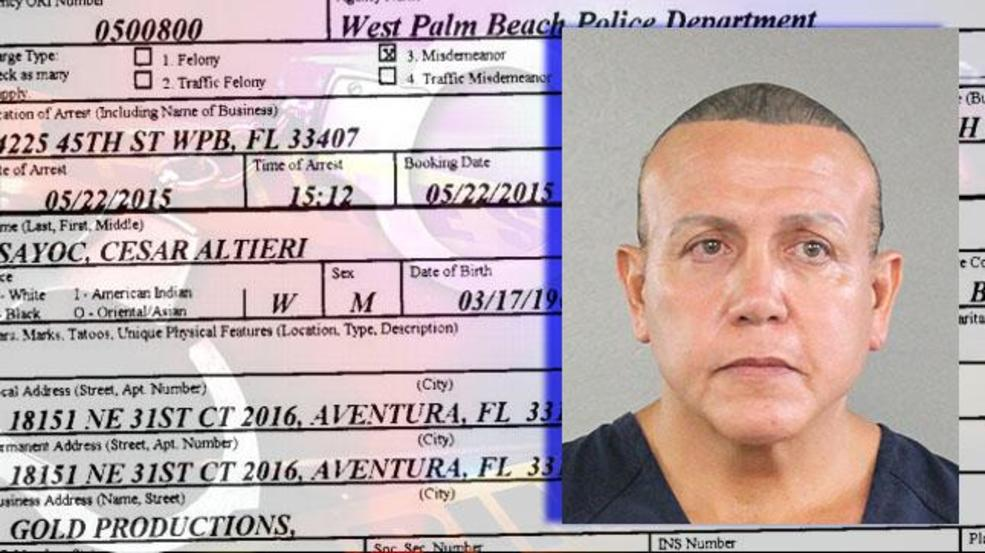 Bomb suspect cited for stealing from Walmart in West Palm Beach | WPEC