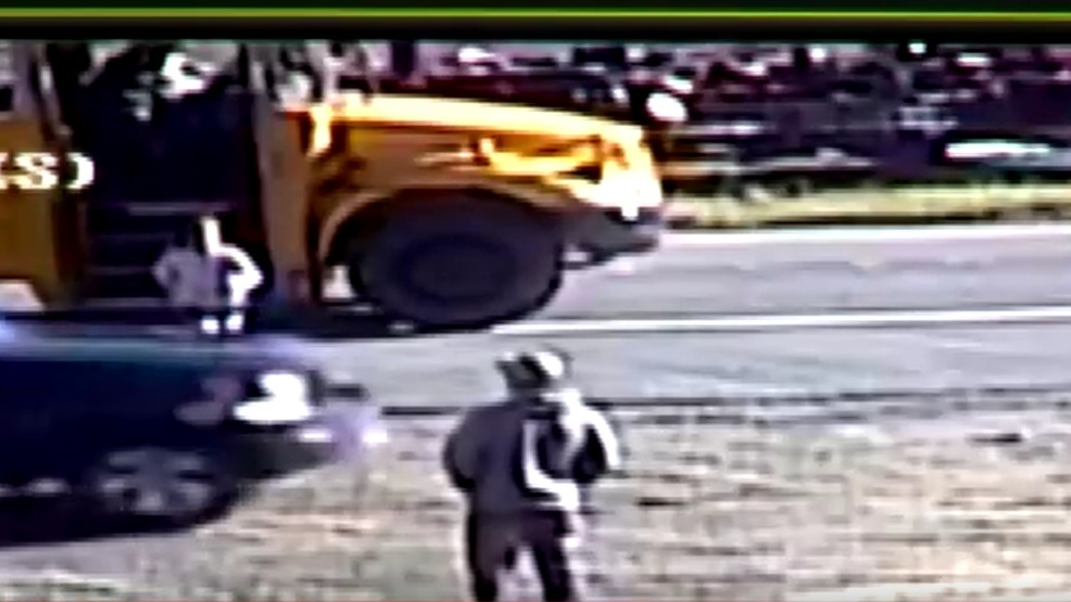 7 Year Old Girl Nearly Run Over By Car Passing Stopped School Bus Kval