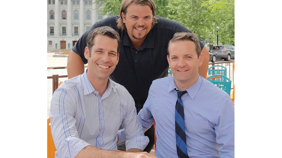 Jeff Haupt, Mark Tauscher and Craig Bartlett (Photo courtesy Isthmus Publishing Company)