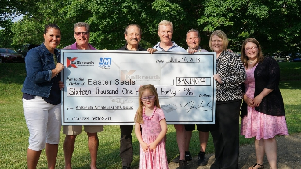Kalkreuth Donates More Than 16 000 To Easter Seals Wtov