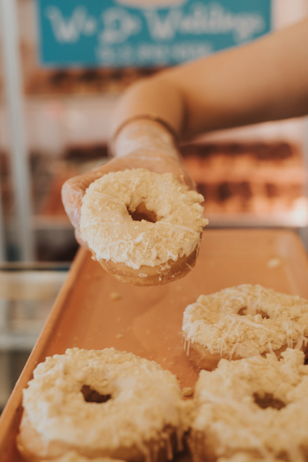 Butter Crumb Speciality Doughnut / Image: Brianna Long // Published: 6.22.17