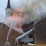 Report: Fire breaks out at LDS church near Idaho Falls