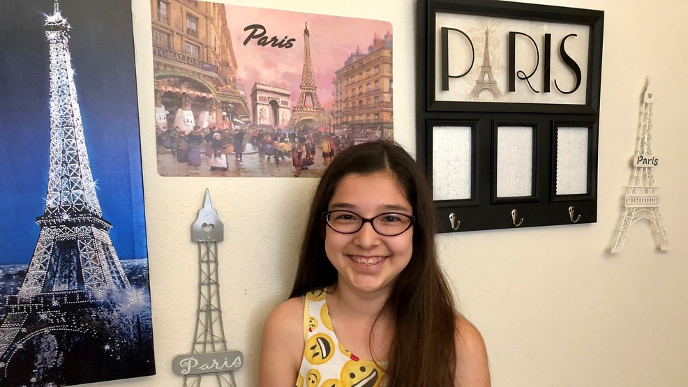 Isabel Lopez is a budding fashion designer who's headed to Paris, thanks to Make-A-Wish Foundation.jpg