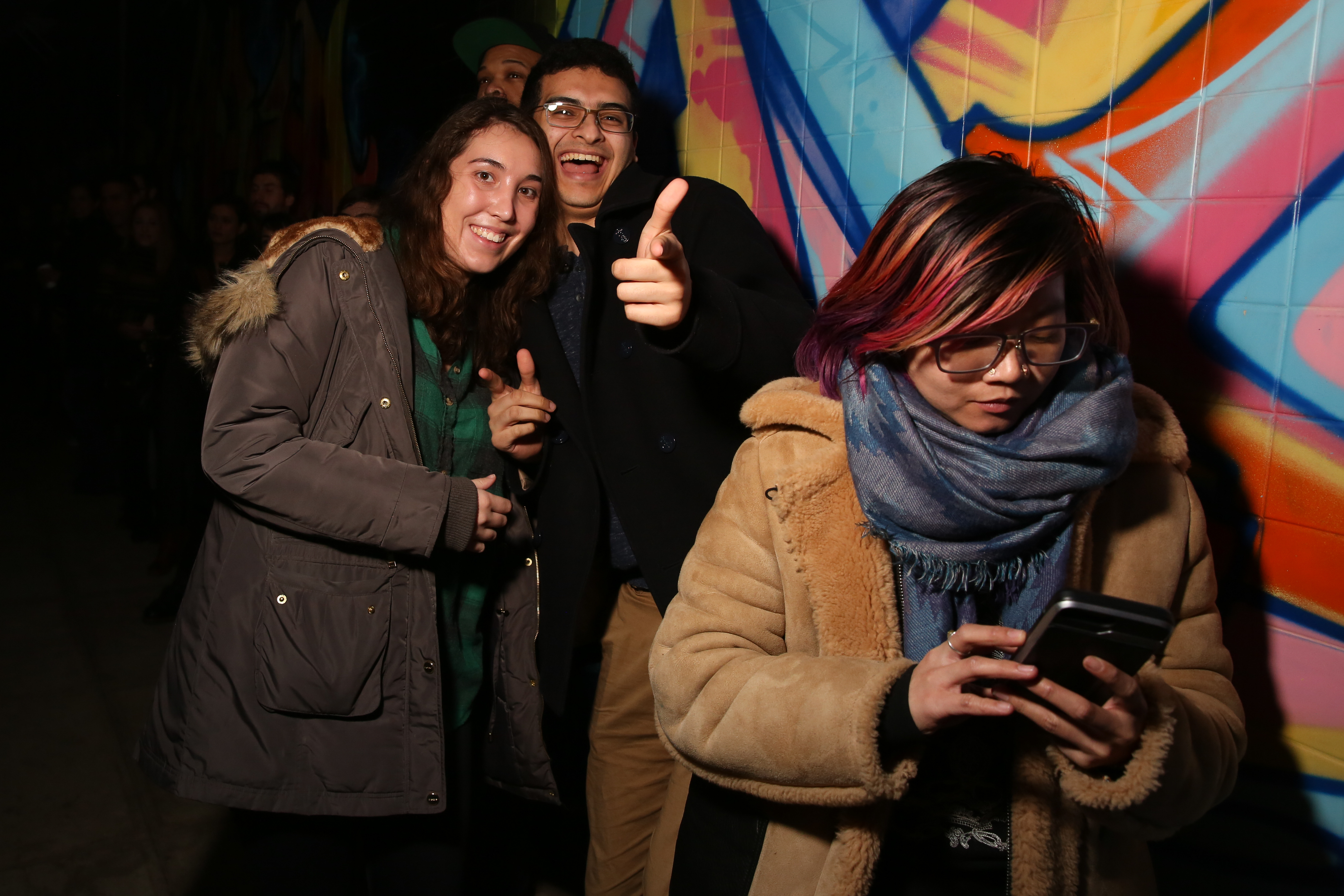 Dupont Underground hosted Munderground, a night of music from acts mostly based in D.C., headlined by Mundy. The arts space has plenty of multimedia offerings, but the stellar murals and intimate atmosphere make this one of the coolest venues in D.C. (Amanda Andrade-Rhoades/DC Refined)