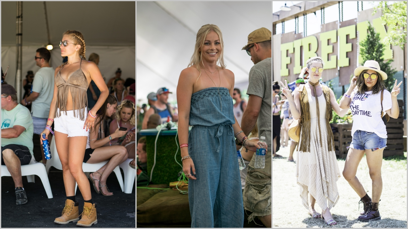 Just a few of our favorite festival fashions from Firefly 2016. (Images: Lacey Faeh)<p></p>