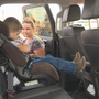 Safety instructors host car seat check up for local parents