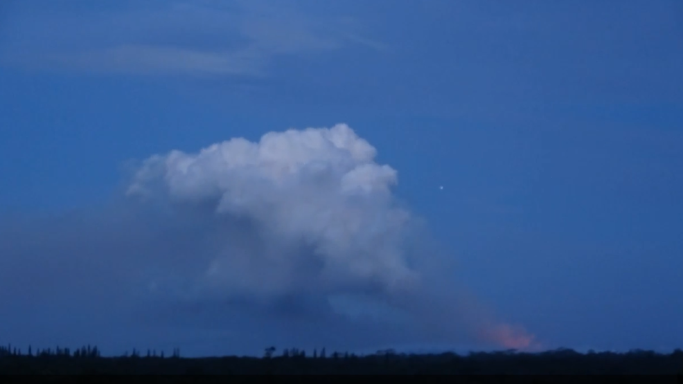 Inside the Storm: Volcano continues to erupt at Mount Kilauea in Hawaii