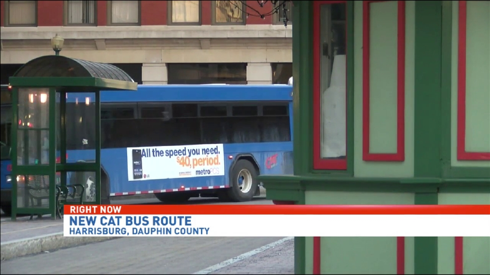 CAT launches new bus route in Harrisburg | WHP
