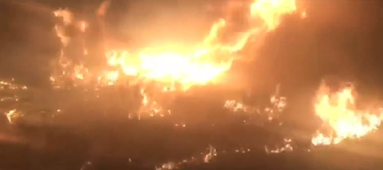 Tire fires in polygamist towns set by 'hooligans' a concern for residents (Photo: KUTV)