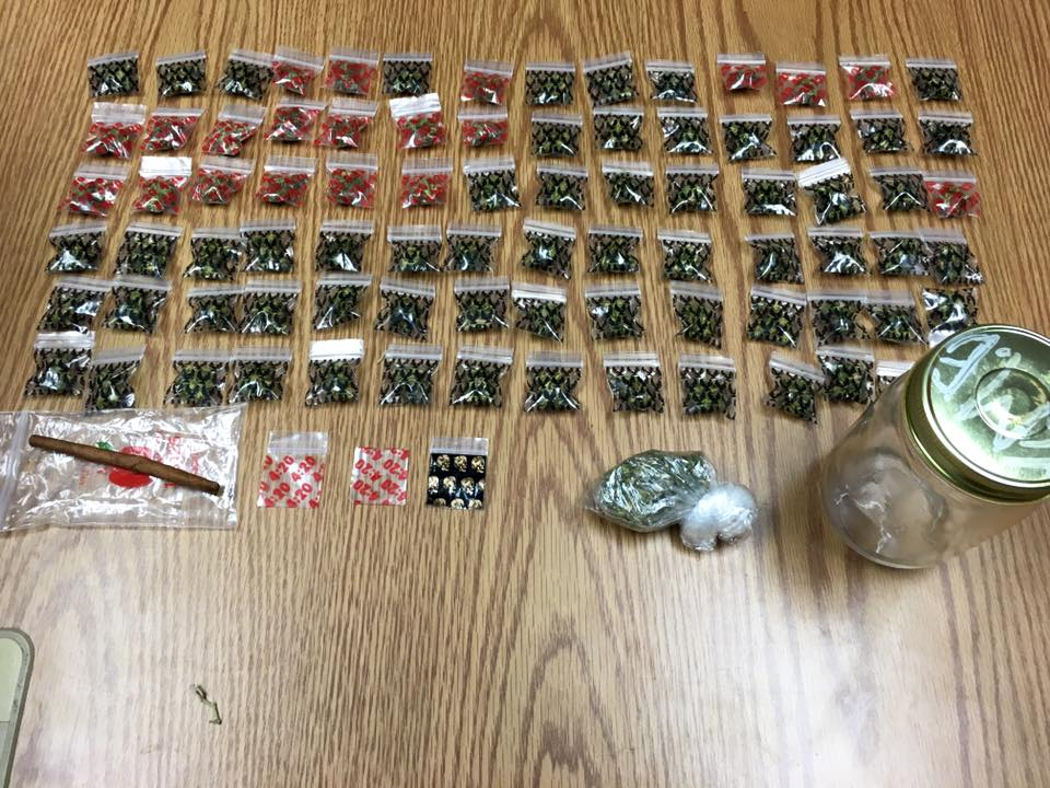 Dozens of baggies of hydroponic marijuana seized after a party in Freeburg. Multiple suspects face drug charges after several arrests in Osage County over the weekend.