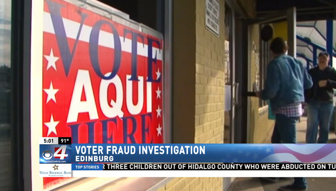 <p>Three people have been arrested in connection with a voter fraud investigation.</p>