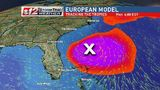 Franklin nearly a hurricane, Atlantic disturbance may strengthen