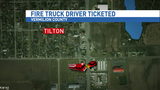 Fire truck driver issued citation after Vermilion County crash