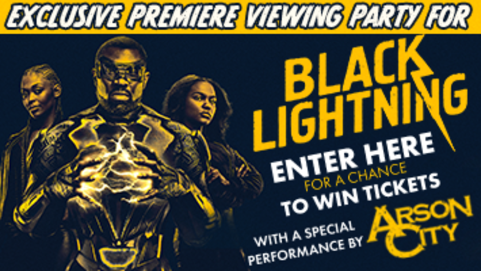 Black Lightning Premiere Party Contest Rules