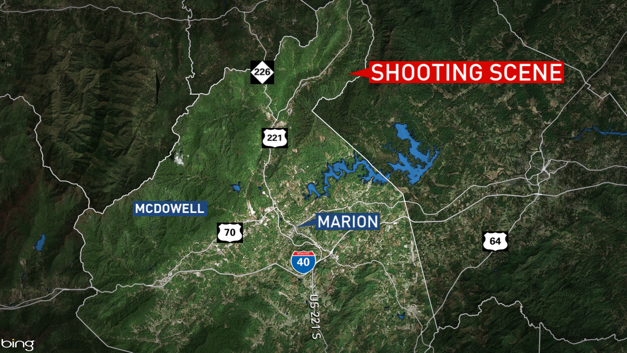 Map credit: WLOS Staff