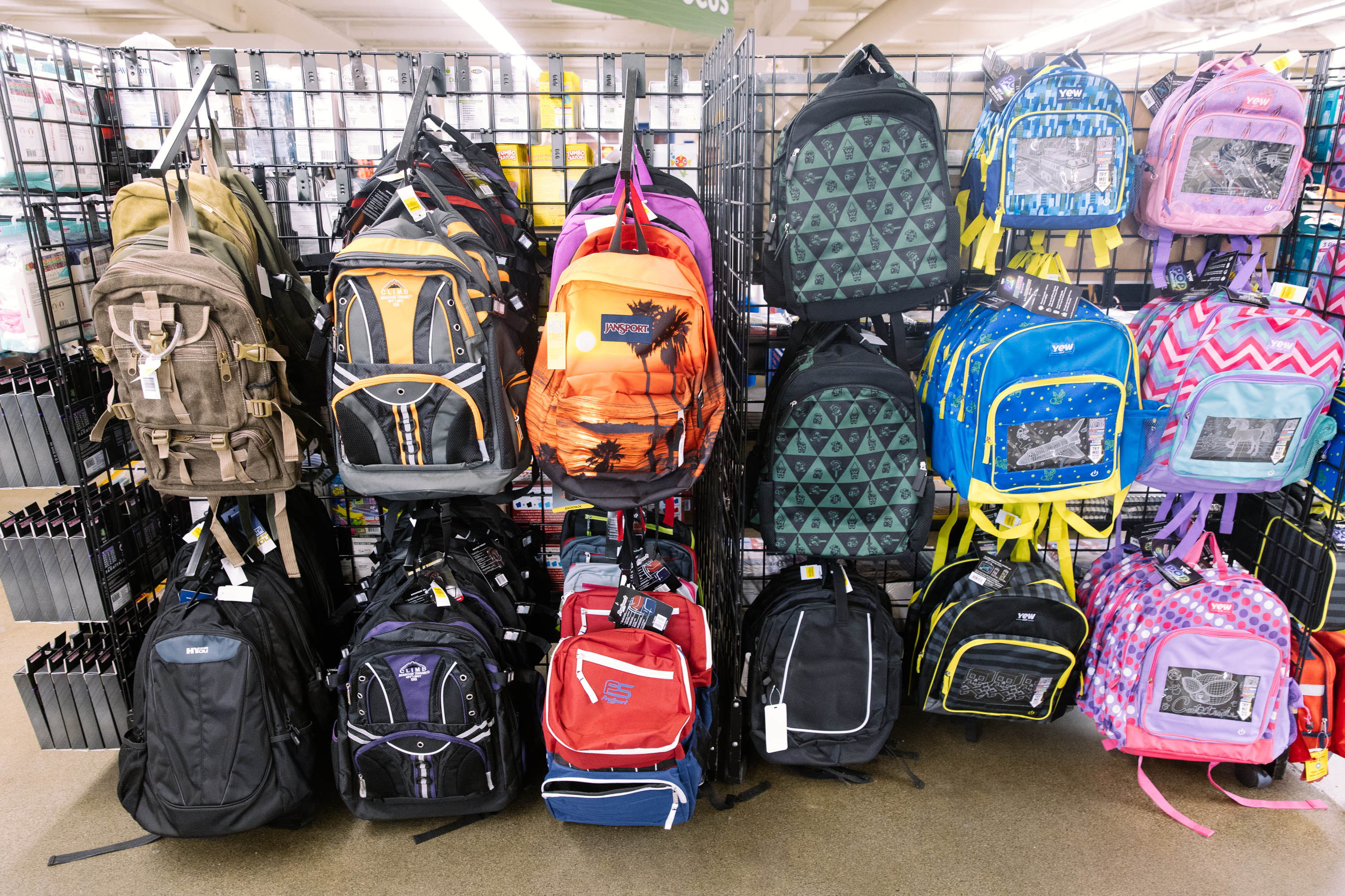 Seattle Goodwill is a great place for families to score the trendiest looks for back to school. That includes retro modern, flannel and{&nbsp;} comfy cool! Plus Goodwill has new items for sale too, including backpacks and lunch boxes. (Photo: Seattle Goodwill){&nbsp;}<p></p>