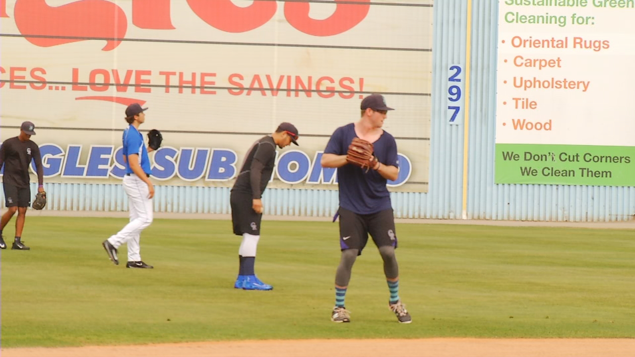 The South Atlantic League schedule gives teams who didn't play as well as they wanted in the first half of the season the chance to start over in the second half. That's what the Tourists are hoping to do, and it all starts with their pitching staff and their pitching coach. (Photo credit: WLOS Staff)