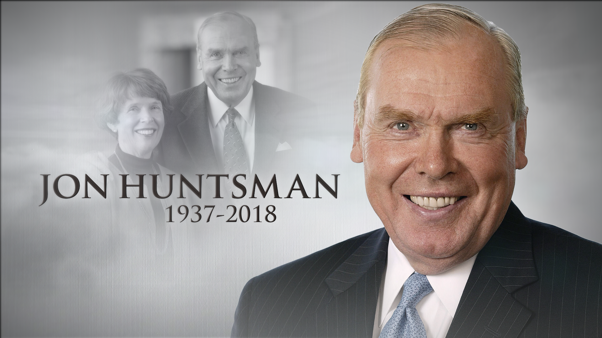 'Beacon of Hope' installed at the Huntsman Cancer Institute to remember Jon M. Huntsman (Photo: KUTV)