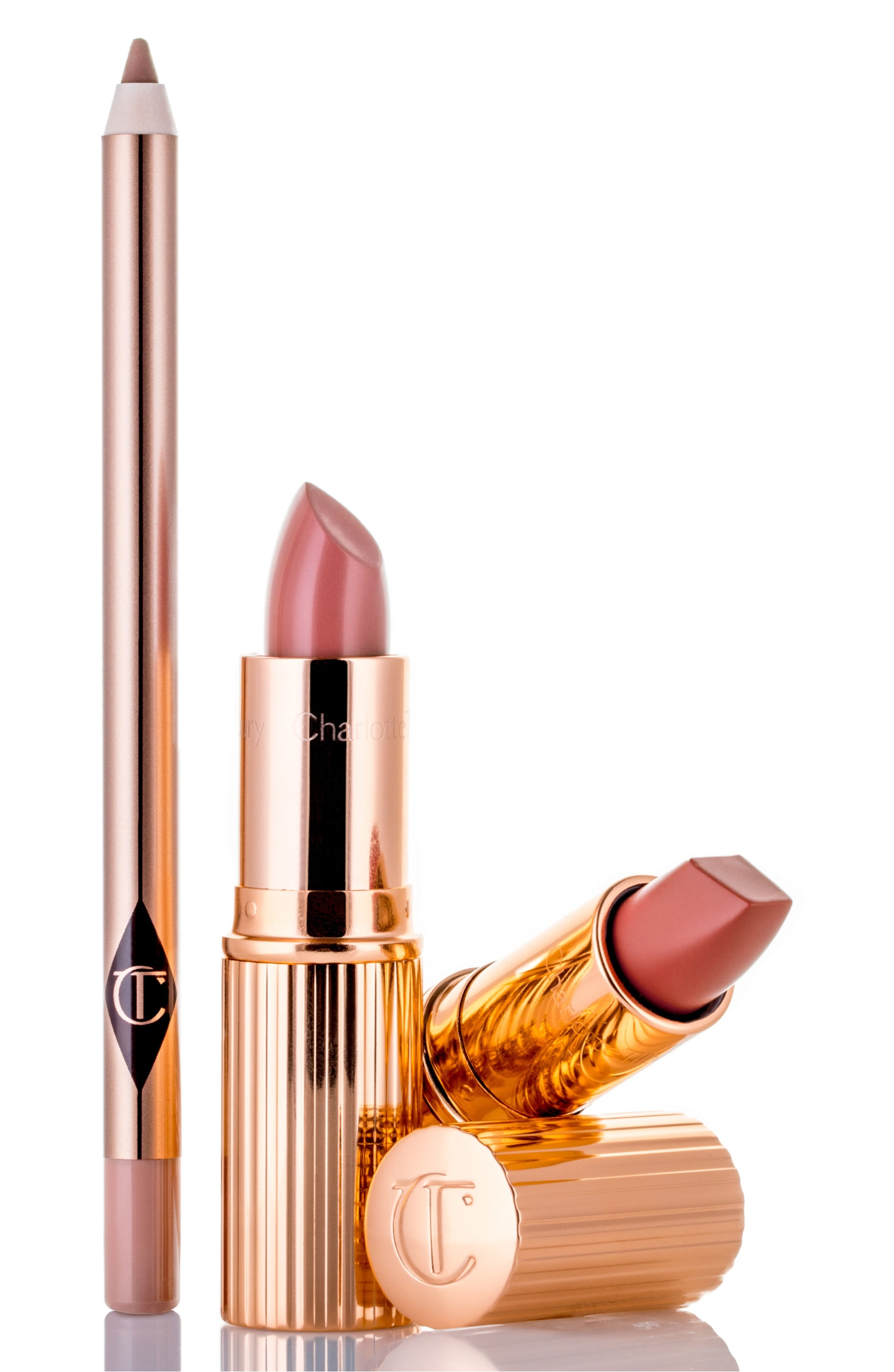 The Pretty Pink Lipstick Set. $60.00 ($90 Value). (Image: Nordstrom){ }