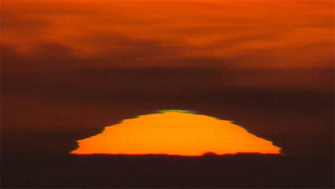 Green Flash from Lincoln City - (Photo: YouNews contributor: markesc)