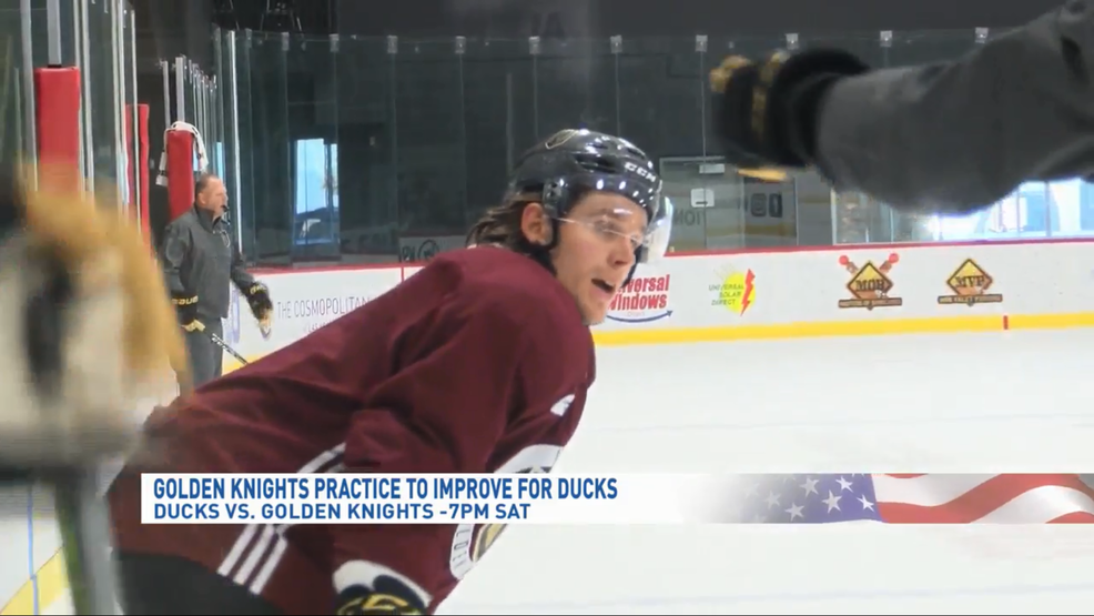 Golden Knights prepare for biggest test of young season