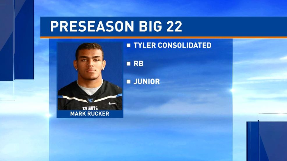 Preseason Big 22 player profiles: Mark Rucker, Tyler Consolidated