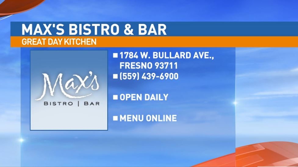Max's Bistro & Bar is located at 1784 W Bullard Ave. in Fresno.