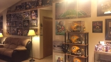 Green Bay home decked out in Packers memorabilia