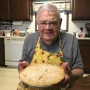 98-year-old man baking out of love