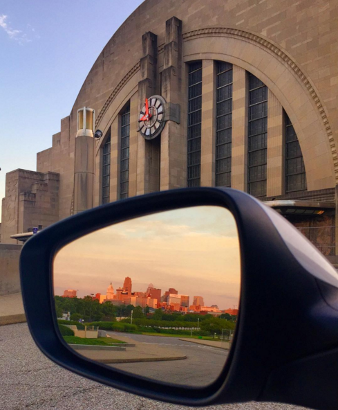 IMAGE: IG user @cincymuseum / POST: #TerminalTuesday brings you #views in all directions! #cincyusa #SUMMERinCINCY #ohiogram #discoverohio #UnionTerminal #CincyMuseum #artdeco #downtowncincy