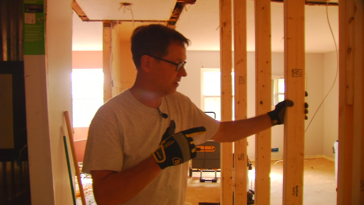 As Britten Olinger recovers in Atlanta's Shepherd Center, volunteers are working on the Montreat College track coach's home, trying to make his transition a little easier. (Photo credit: WLOS staff)