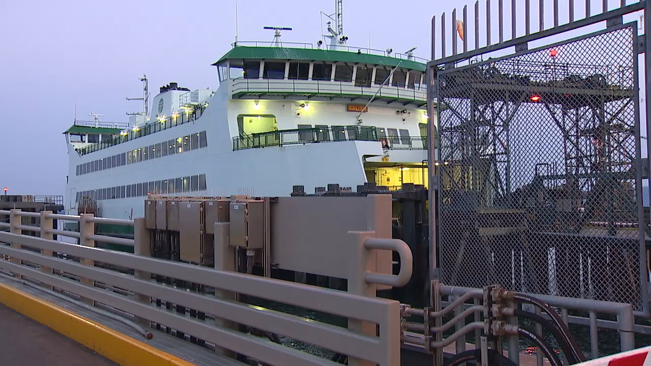 Washington State Ferries has a plea to boaters after new pictures reveal more damage to the Salish ferry. Officials said crab pots are to blame. (Photo: KOMO News)