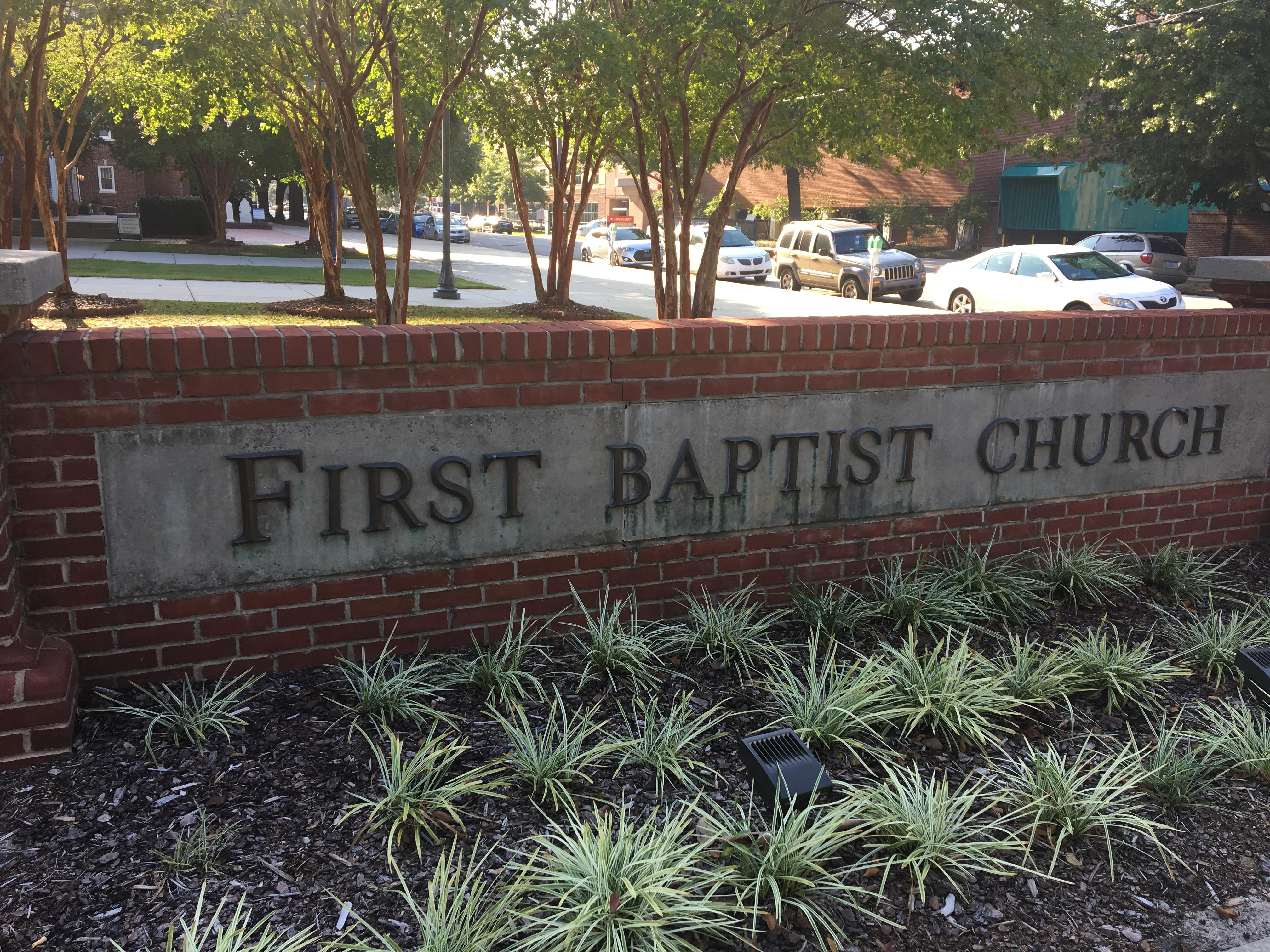 First Baptist Church of Columbia (Source: Sharonne Hayes, WACH Fox)<p></p>