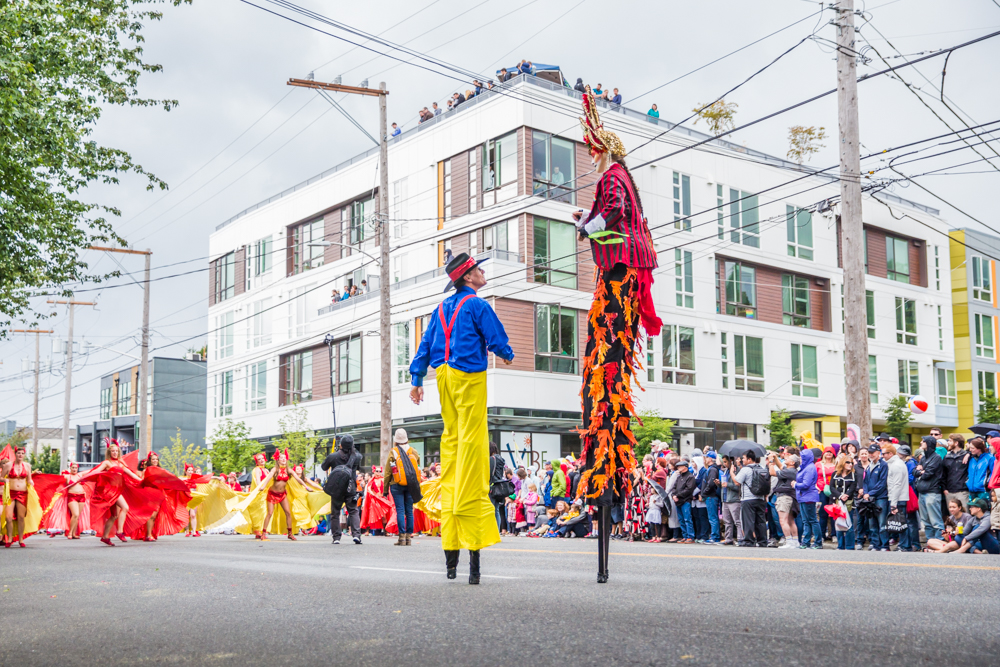 "2016 Fremont Solstice Parade. Today we're celebrating what would have been the 2020 Fremont Solstice Parade with a look back at parade's past and remembering how downright wild and wacky they are. We know you're missing that creative release Seattle - we are too! The Fremont Artist Council is{&nbsp;}<a  href=""https://fremontartscouncil.org/parade/"" target=""_blank"" title=""https://fremontartscouncil.org/parade/"">having a Virtual Parade</a>{&nbsp;}and heck, no judgment from us if you want to watch it naked or with body paint on. See you next year… (Image: Joshua Lewis / Seattle Refined)"