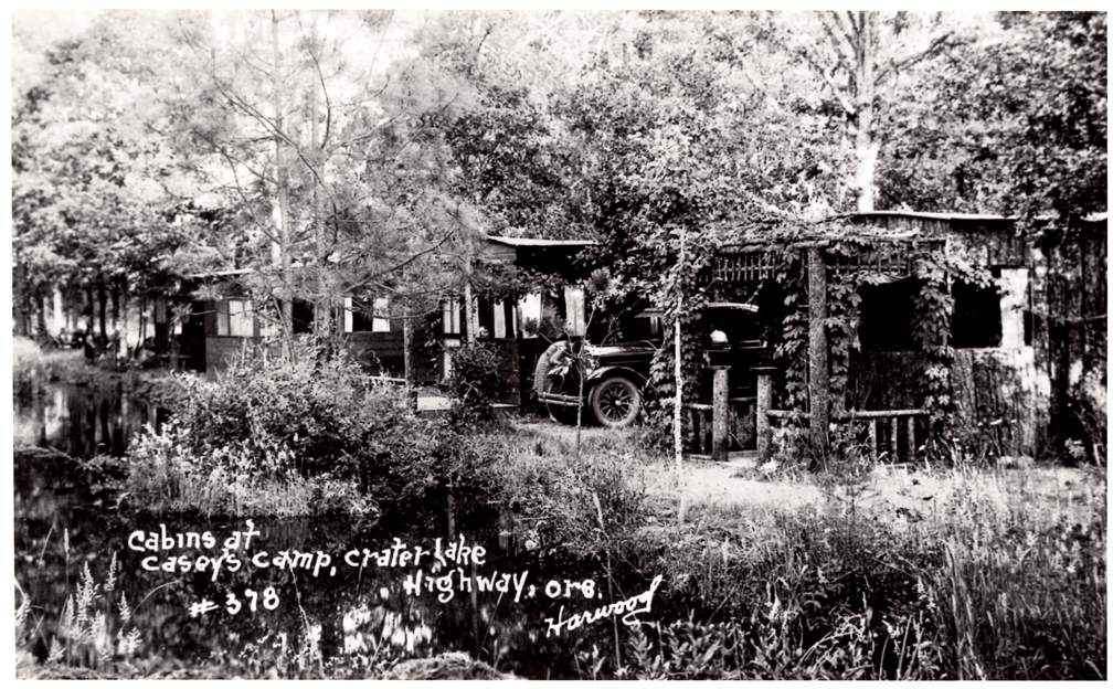 Lost Villages which once existed where is now Lost Creek Reservoir. Photo Courtesy Dennis Ellingson -Casey's Camp