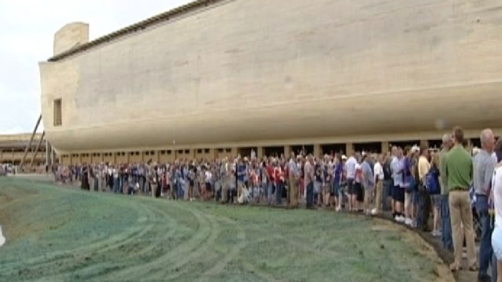 Life-size recreation of Noah's Ark opens to public in ...