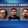 Three charged in Charleston after State Police say kids living in filthy conditions