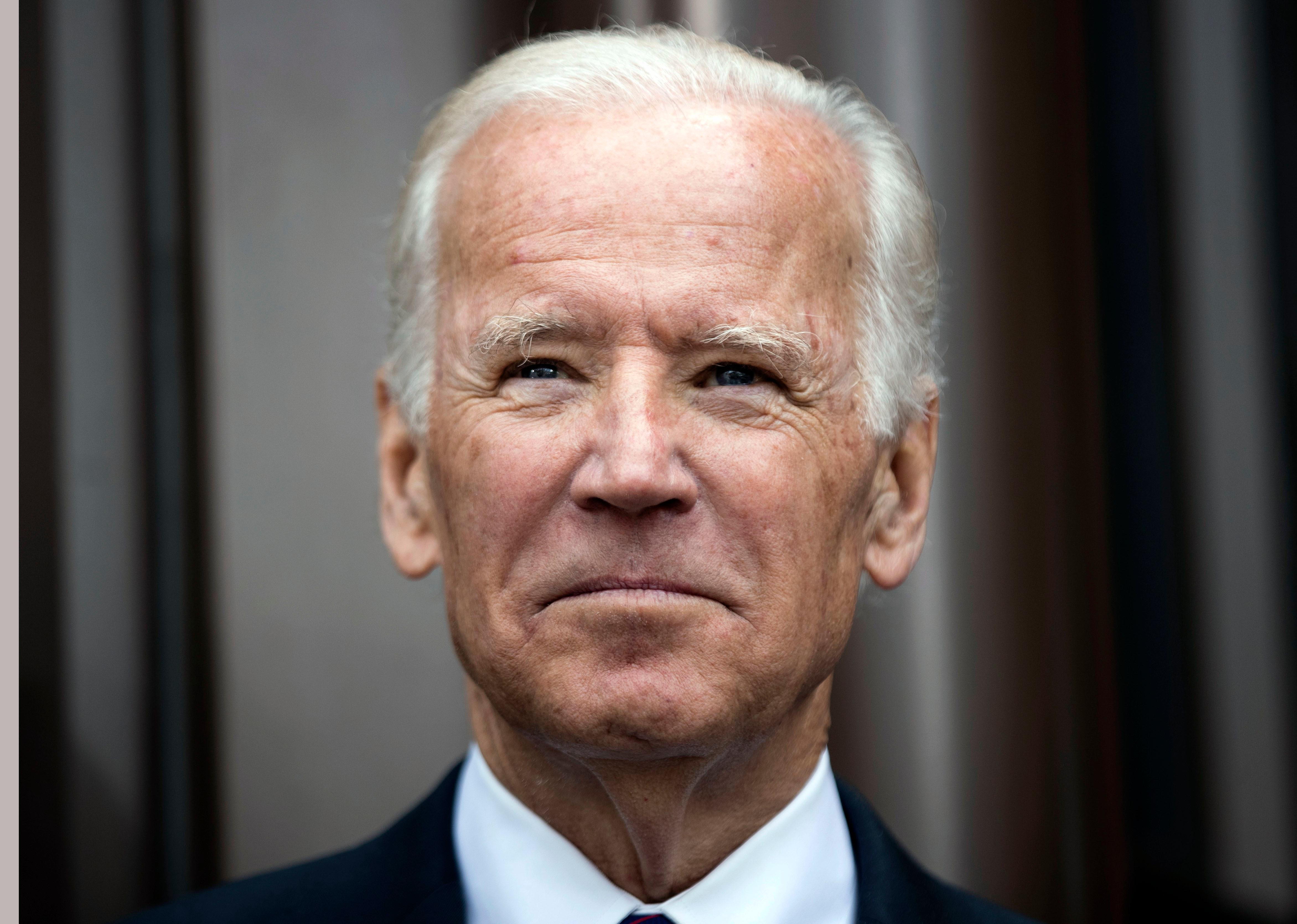 FILE- In this April 19, 2017, file photo, former Vice President Joe Biden attends the opening ceremony for Museum of the American Revolution in Philadelphia. Biden is slated to deliver the Class Day address at Harvard University on Wednesday, May 24. (AP Photo/Matt Rourke, File)