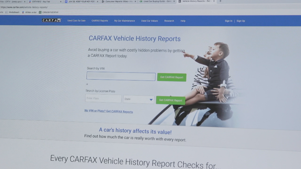 Why vehicle history reports don't reveal everything