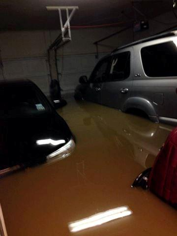 "Chris Perez told KEYE-TV ""My house has flooded. I live in Onion Creek. It's going to be long day...."""