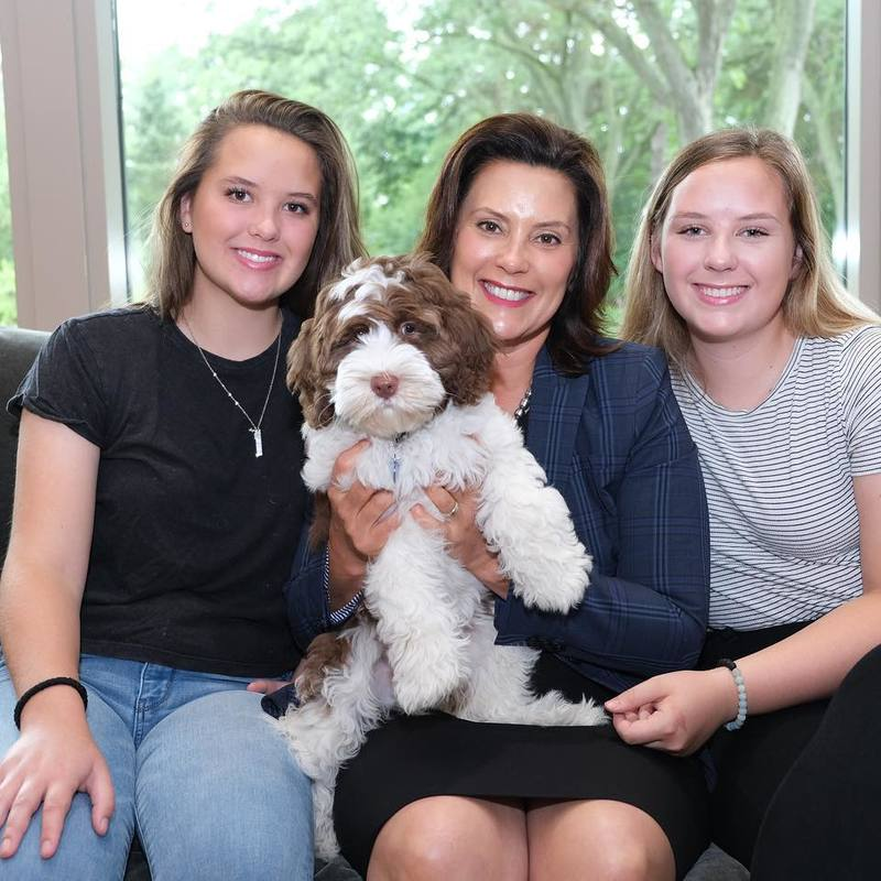 Governor Whitmer Announces New Addition To Her Family Weyi
