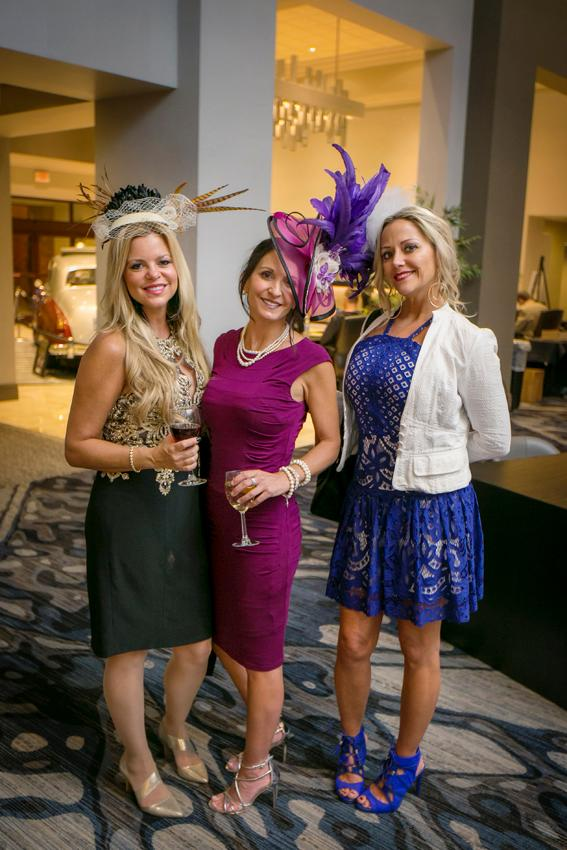 Rachel Miller, Sandy Wilson, and Tracy Smith at the American Cancer Society's Striders' Ball (10.13.18) / Image: Mike Bresnen Photography // Published: 10.31.18