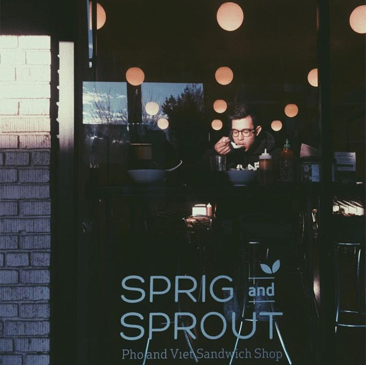 Sprig and Sprout is a popular spot for Pho and other Vietnamese dishes. (Salo Aburto/@therealsasso)